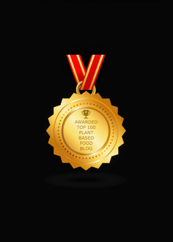 FeedSpot Top 100 Plant-Based Award